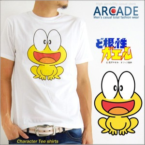 ピョン吉 Tシャツ ど根性ガエル プリント Tシャツ