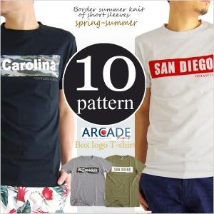 ボックスロゴプリントTシャツ
